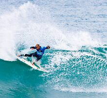 Kelly Slater Speed Blur Blue vest. by Gerhard Engelbrecht