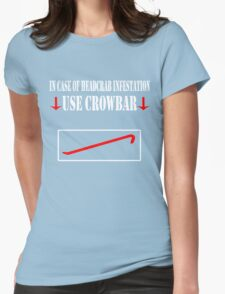 Half Life - Crowbar Womens Fitted T-Shirt