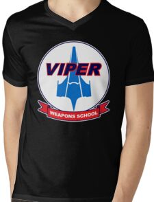 Viper Weapons School Mens V-Neck T-Shirt