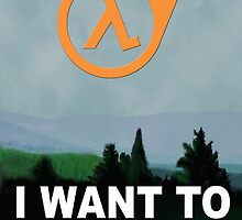 I Want To Believe - Half Life 3 by Balugix