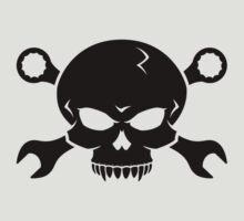 Skull 'n' Tools - Screw Pirate 2 (black) by GET-THE-CAR