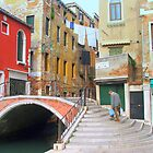A Quiet Corner of Venice by FritzFitton
