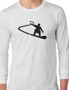 Downhill snowboarding Long Sleeve T-Shirt
