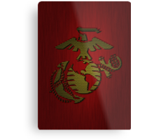 Android Marine Patch Metal Print