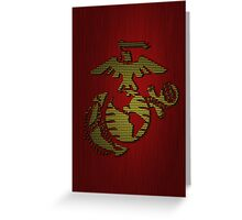 Android Marine Patch Greeting Card