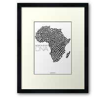 Africa is my DNA Framed Print