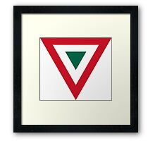 Mexican Air Force - Roundel Framed Print