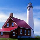Tawas Lighthouse by Megan Noble