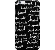 Hand Made black version iPhone Case/Skin
