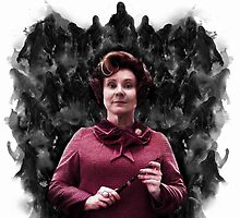 Dolores Umbridge & the Dementors by Daveseedhouse