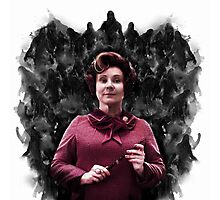 Dolores Umbridge & the Dementors Photographic Print
