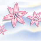 Lilies on Light by lydiasart