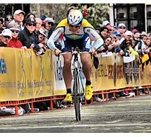 competition grin Photographic Print