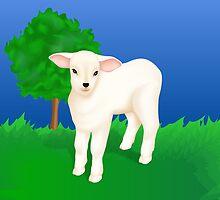 Little Lamb by lydiasart