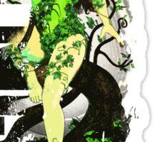 Poison Ivy 3D World Sticker