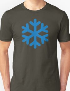 Blue snow symbol T-Shirt