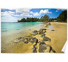 Catamaran Rocks Poster