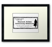 Consulting Framed Print