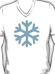 Blue snow icon T-Shirt