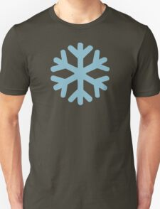Blue snow icon T-Shirt