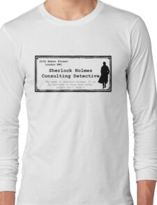 Consulting Long Sleeve T-Shirt