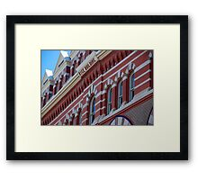 Hall - Rice Building Troy, NY > Framed Print