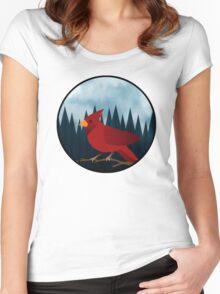 Cardinal Women's Fitted Scoop T-Shirt