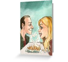 Chip Date Greeting Card