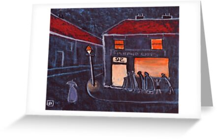 Fish and Chip Shop by sword