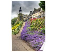 Lavender in the Park Poster