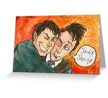 Jack Doctor Hug Greeting Card