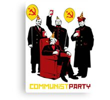Cominis Party Canvas Print