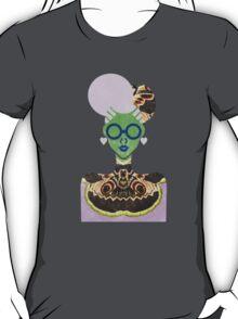 Moth Cheongsam T-Shirt