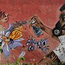 graffiti  by Bernhard Matejka