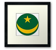 Mauritanian Air Force - Roundel Framed Print