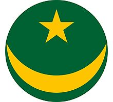 Mauritanian Air Force - Roundel Photographic Print