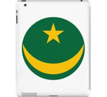 Mauritanian Air Force - Roundel iPad Case/Skin