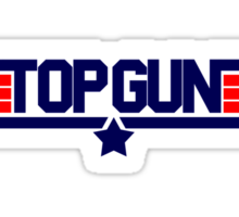 Top Gun Sticker