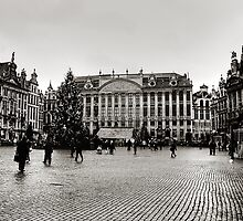 Grand Place Brussels by Vikram Franklin