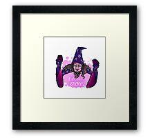 wizard ivan ooze  Framed Print