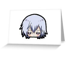 Chibi Gauche Greeting Card
