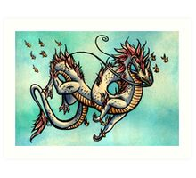 The lord of the seas Art Print
