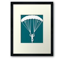 scissor suicide skydive Framed Print
