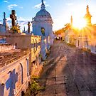 Golden Sunshine On The Tombs Of Granada by Mark Tisdale