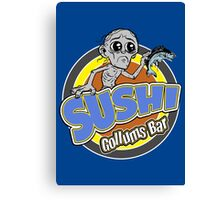 Gollums Sushi Bar Canvas Print