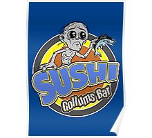 Gollums Sushi Bar Poster