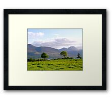 Aghadoe Hill in Springtime Framed Print