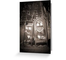 love mailboxes Greeting Card