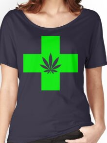 medical marijuana Women's Relaxed Fit T-Shirt