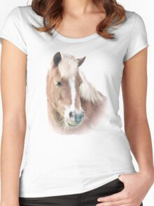 Pony Perfection Women's Fitted Scoop T-Shirt